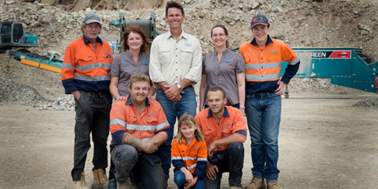 Hard Rock Quarries Team